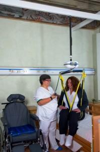 Sistema per disabili ad H